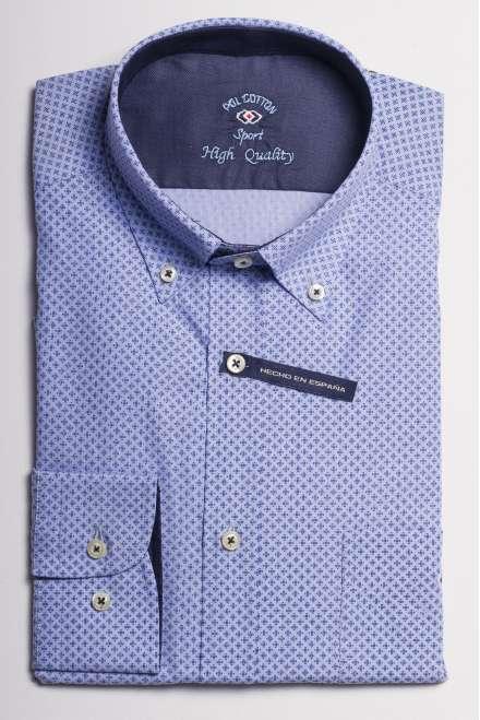 camisa printed cruces