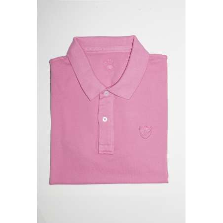 Polo slim fit rosa