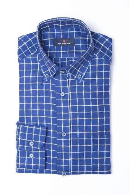 Camisa button down cuadro ventana