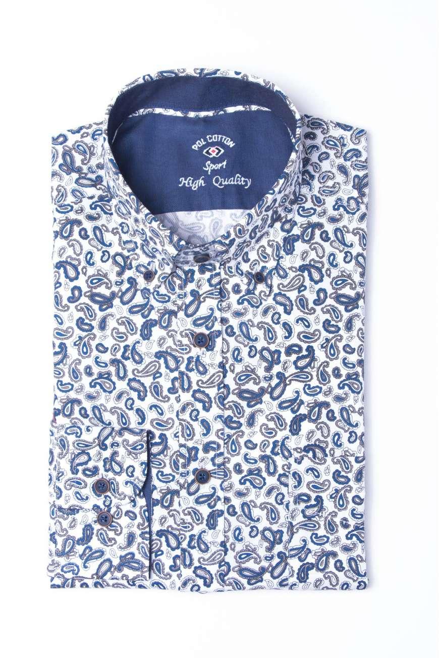 Camisa estampado paisley