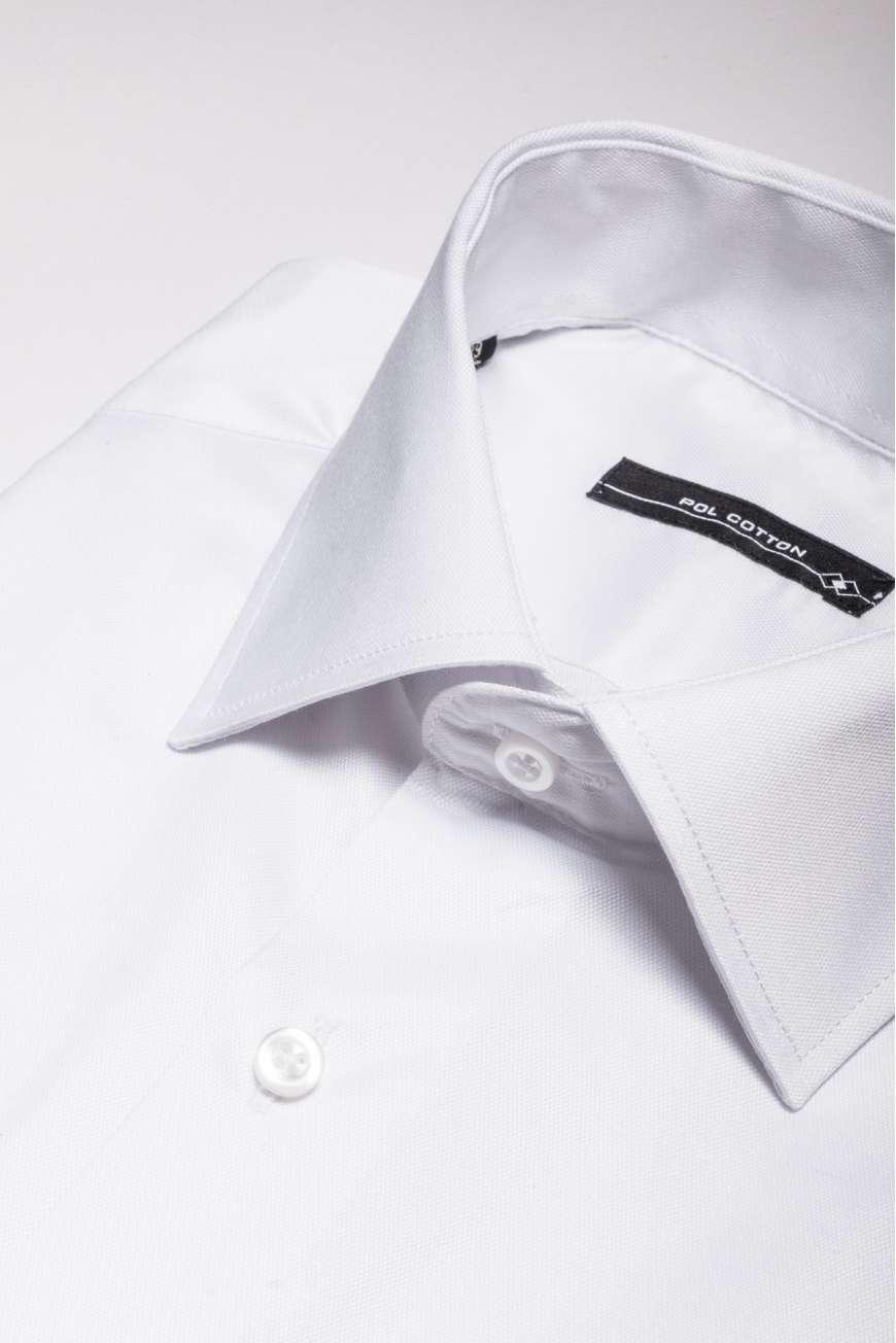 Camisa de vestir Confort line blanco micropunto