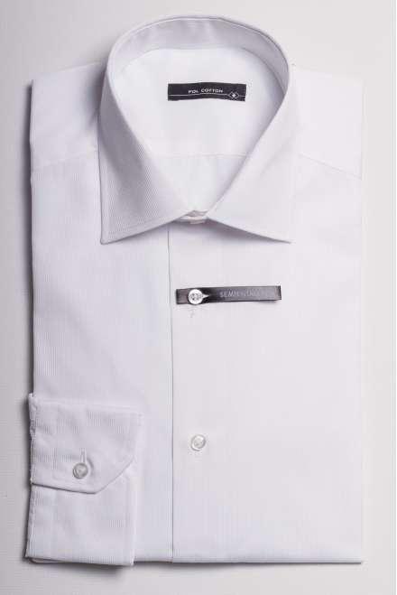 camisa cuello regular puño clásico