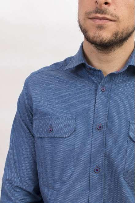 Camisa denim dos bolsos