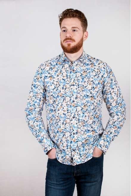 Camisa flores grandes