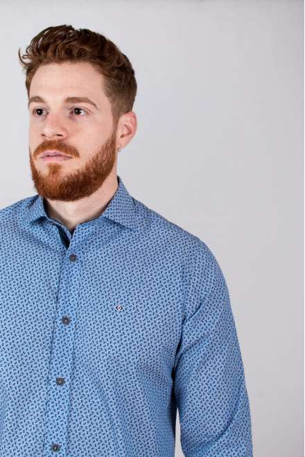 Camisa micro-flor