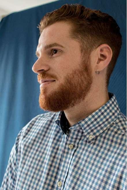 Camisa cuadro vichy azul/azul