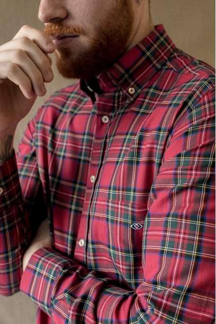 Camisa clanes rojo
