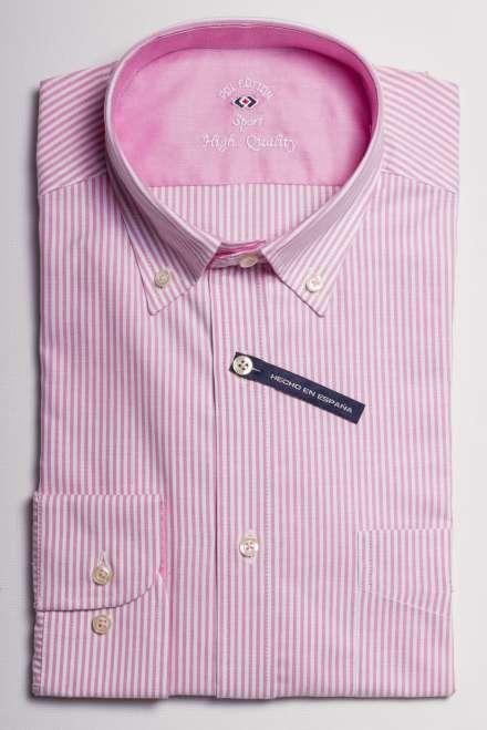 camisa sport ciudad raya kodak rosa